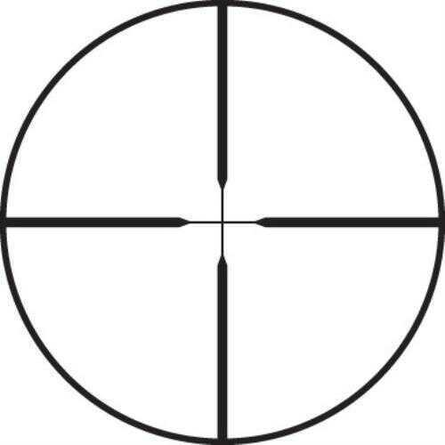 Leupold VX-2 Riflescope 6-18x40mm Adjustable Objective, Matte Black, Fine Duplex Reticle 110814