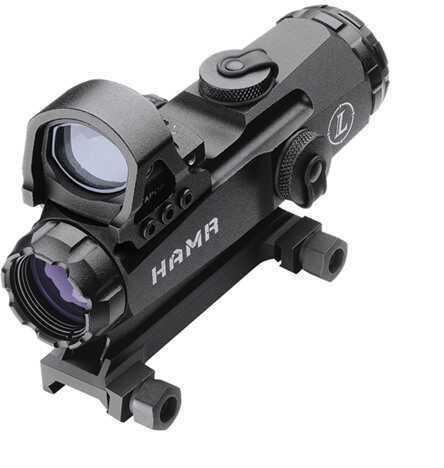 Leupold Mark 4 HAMR 4x24mm Matte Illuminated 3.5MOA 114488