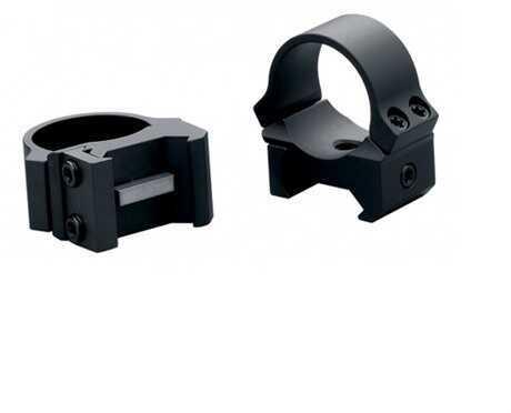 """Leupold PRW Rings 1"""" Medium Black Matte 54149"""