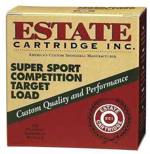 Federal Cartridge Estate Super Sport 12 Gauge 2.75'' 1-1/8oz #8 25/Bx (25 rounds Per Box)