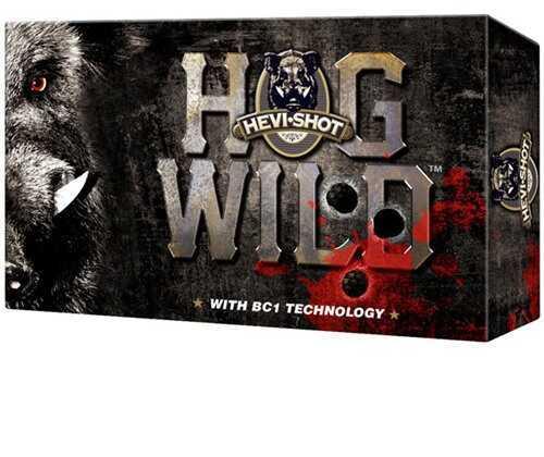 Hevi-Shot Hog Wild 12Ga 3'' 2-.625'' Balls 5/Bx