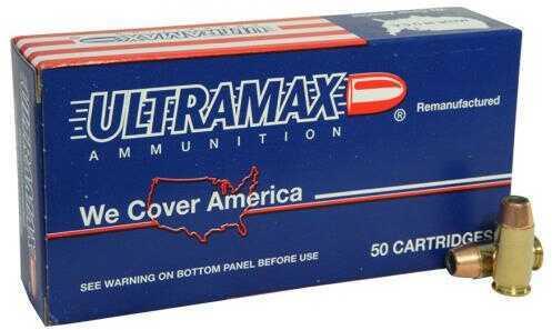 Ultramax Ammo 45 ACP 185 Gr JHP 50/Bx Ammo