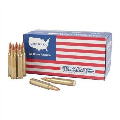 Ultramax Ammo 223 Remington 62 Gr FMJ md: UMA223R10