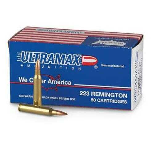 Ultramax 223 Remington 50 Grain Speer TNT Ammunition, 20 Rounds Per Box