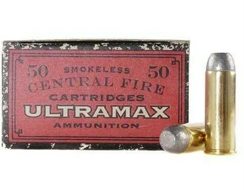Ultramax Cowboy Action 45 Colt 250 Grain Lead Flat Nose Ammunition, 250 Rounds