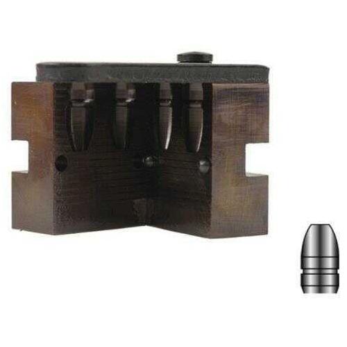 Lyman 2-Cavity Bullet Mold For 9mm 147 Grain Flat Nose Bevel Base Bullets Md: LY2660637