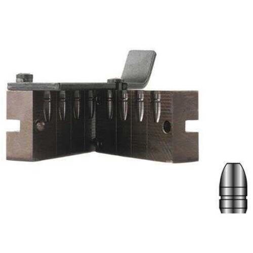 Lyman 4-Cavity Bullet Mold For 9mm 147 Grain Flat Nose Bevel Base Bullets Md: LY2670637