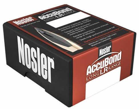 Nosler Bullet Accubond LR 7mm Spitzer 168Gr 100/Box