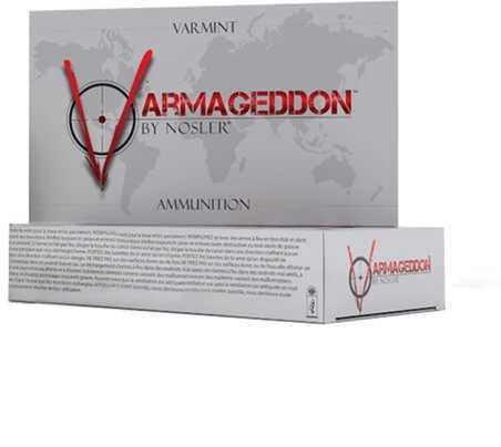 Nosler Varmageddon Ammunition 17 Remington 20 Gr FBHP (Per 20) 65100