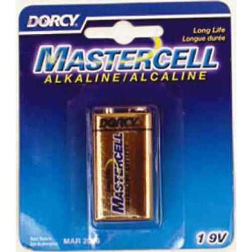 Dorcy Mastercell Batteries 9-Volt Alkaline 1/Pack 1610
