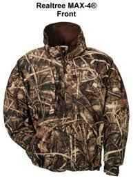 Drake Waterfowl Jacket Max-4 Fleece-Lined Size XXL DW210MX4XXL