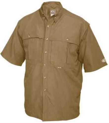 Drake Waterfowl Drake Casual Shirt Tan Short Sleeve Large DW260TANL