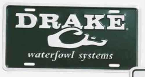 Drake Waterfowl Drake License Plate Green DW80121