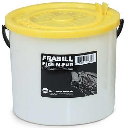 Frabill Inc Frabill Fish-N-Fun Bait Bucket 4-1/2qt w/Removable Lid Md#: 4600