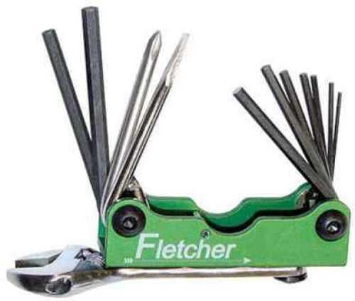 Jim Fletcher Archery Fletcher Archery Fletcher Field Tool 12-N-1 Tool 601FFT