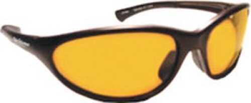 Flying Fisherman Sunglasses Polaroid-Calcutta Matte Black/Amber Md#: 7713BA