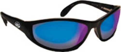 Flying Fisherman Sunglasses Polaroid-Viper Black/Amber Green Md#: 7715BA