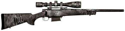 Used Howa Kryptek Typhoon Bipod 308 Winchester 5 Round Nikko Stirling Game King Scope Hogue Overmold Bolt Action Rifle HKF93127KTF (BOX WORN)