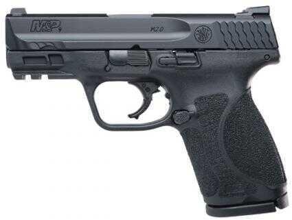"Smith & Wesson M&P Shield EZ M2.0 Pistol 9mm 3.6"" Barrel 8+1 Round TruGlo Night Sights Black Armornite Stainless Steel Slide Black Polymer Grip"