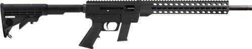 """JRC Rifle Gen3 . 45 ACP 17"""" Bbl. KEYMOD 13Rd Glock Mag Black"""