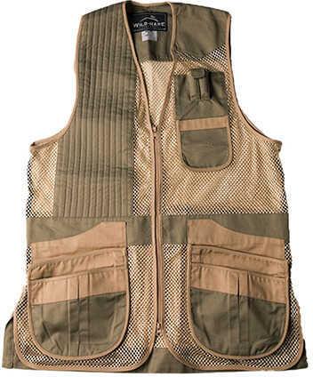 Peregrine Wild Hare Heatwave Mesh Vest Sage/Khaki, Left Hand, 2X-Large
