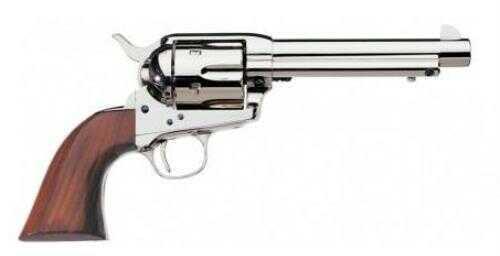 "Revolver Taylor/Uberti 1873 Cattleman 357 Magnum 5.5"" Barrel 6 Round Nickel Finish Walnut Grip"