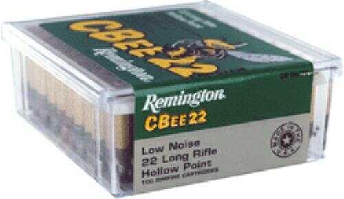Remington CBee 22LR Low Noise 33 Grains HP 100 Rounds Ammunition CB-22L100