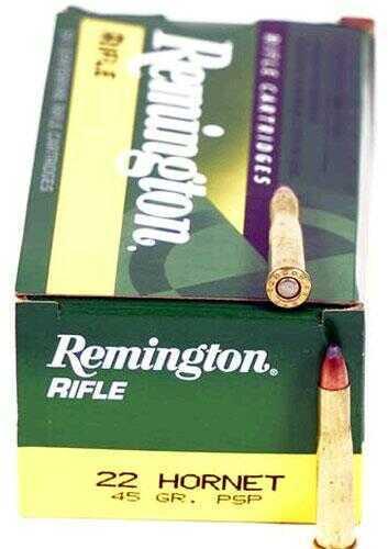 Remington Core Lokt 22 Hornet 45 Grain Pointed Soft Point 50 Round Box 28376