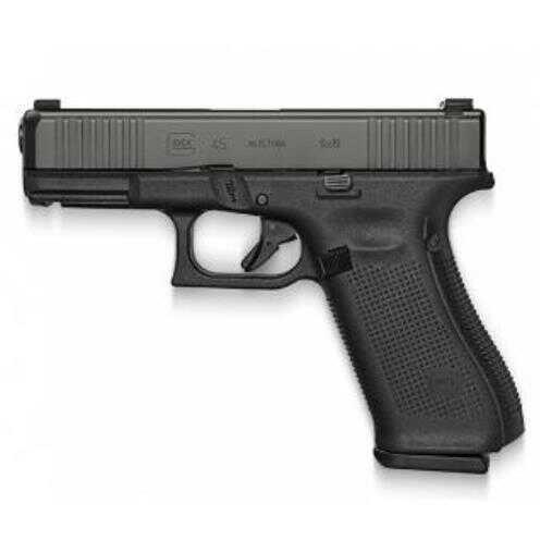 "Glock 45 Generation 5 9mm Pistol 4.02"" Barrel 17 Round Black"