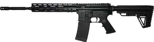 "Ati Mil-sport Ar-15 Rifle 5.56 Nato 16"" Barrel 30 Round Keymod Nano Parts Black"