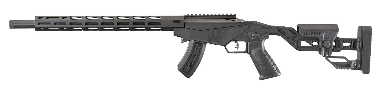 Ruger Precision Rimfire Rifle 17 HMR 18'' Barrel Matte Black 15 Round 8402