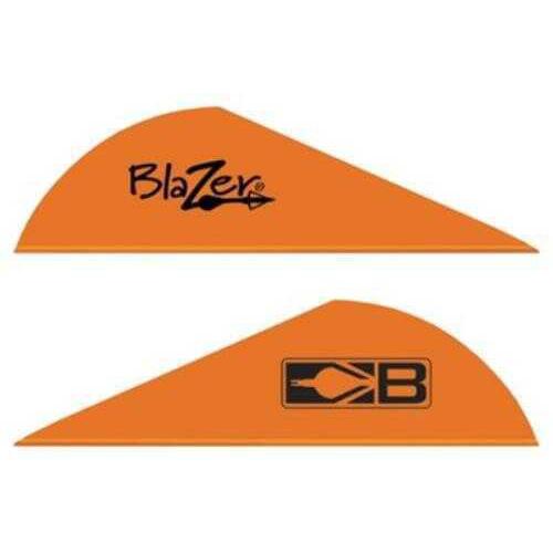 Bohning Archery Bohning Blazer Vanes 100pk Neon-Orange 2in 10832NO2