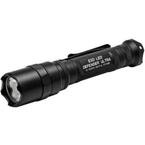 Surefire E2D LED Defender Ultra Flashlight, Black E2DLU-A