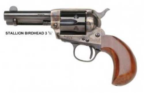 "Taylor Stallion Compact 1873 Revolver 38 Special Birdshead Grip 3.5"" Barrel"