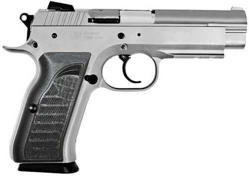 European American Armory EAA Witness Stainless Steel 10mm Pistol Wonder Finish 15 Round Steel Frame Full Size 4.5 Inch Barrel