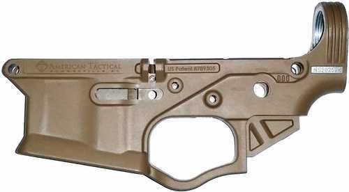 ATI Omni Hybrid AR15 Stripped Polymer Lower Receiver FDE
