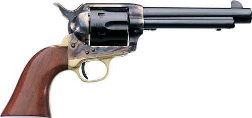 "Taylor Uberti Ranch Hand 1873 SA Revolver 357 Magnum 4.75"" Barrel Brass Cattleman"