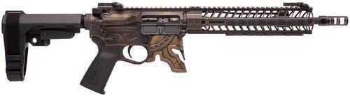Spike's Tactical Spartan, Semi-Automatic AR Pistol With Brace, 5 56 NATO,  11 5
