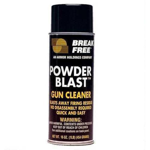 Breakfree Powder Blast - 12 oz Aerosol Eliminates powder residue, plastic streaking, grease & oil build-up - E GC-16