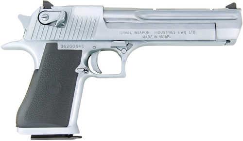 "Magnum Research Desert Eagle Semi Automatic Pistol L5 50 Action Express 5"" Barrel 7 Round Chrome Carbon Steel Slide"