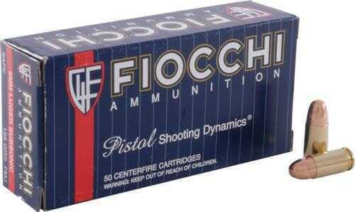 Fiocchi Ammunition Centerfire Pistol 9MM 158 Grain Full Metal Jacket Subsonic 50 Round Box 9APE