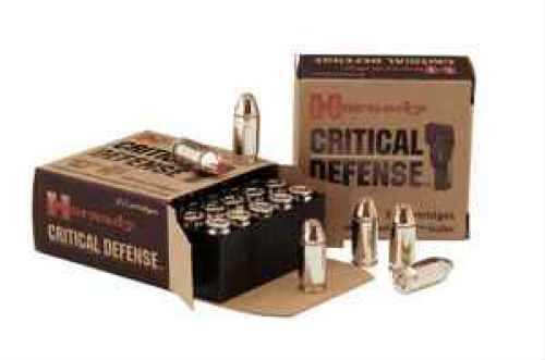 Hornady Critical Defense 38 Special 110 Grain Hollow Point 25 Round Box 90311