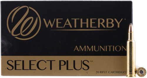 Weatherby 257 Mag 115 Grains Nosler Ballistic Tip Ammunition N257115BST