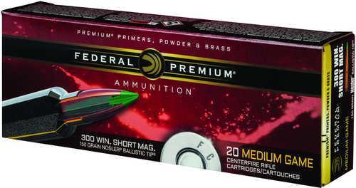 Federal Cartridge 300 Winchester Short Magnum 150gr Nosler ...