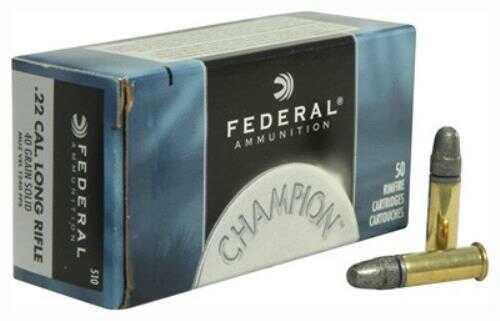 Federal Cartridge 22 Long Rifle 40 Grains High Velocity Solid (Per 50) 510