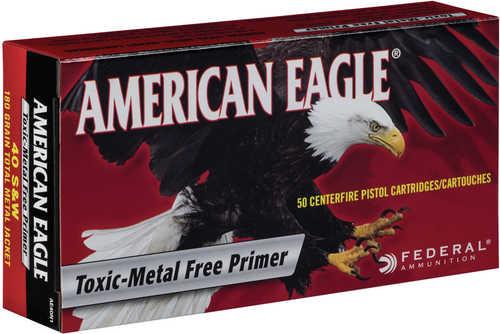 Federal Cartridge 40 Smith & Wesson 180gr Total Metal Jacket (Per 50) AE40N1