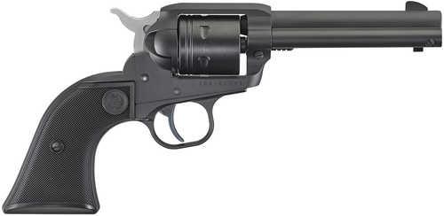 "Ruger Wrangler Revolver 22 Long Rifle 4.62"" Barrel 6 Round Black Checkered Grip Black Finish"