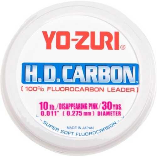 Yo-Zuri America Yozuri HD Fluorocarbon Leader 30yd 40lb Disappearing Pink Md#: HD40LBDP