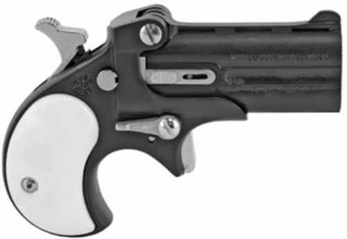 "Bearman Pistols Classic Derringer 22 LR 2.4"" Barrel Alloy Frame Black Finish Pearl Grips Fixed Sights 2Rd CL22LBP"