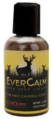 Conquest Scents Ever Calm Scent Liquid Deer Herd Bottle 2.5 oz 1207